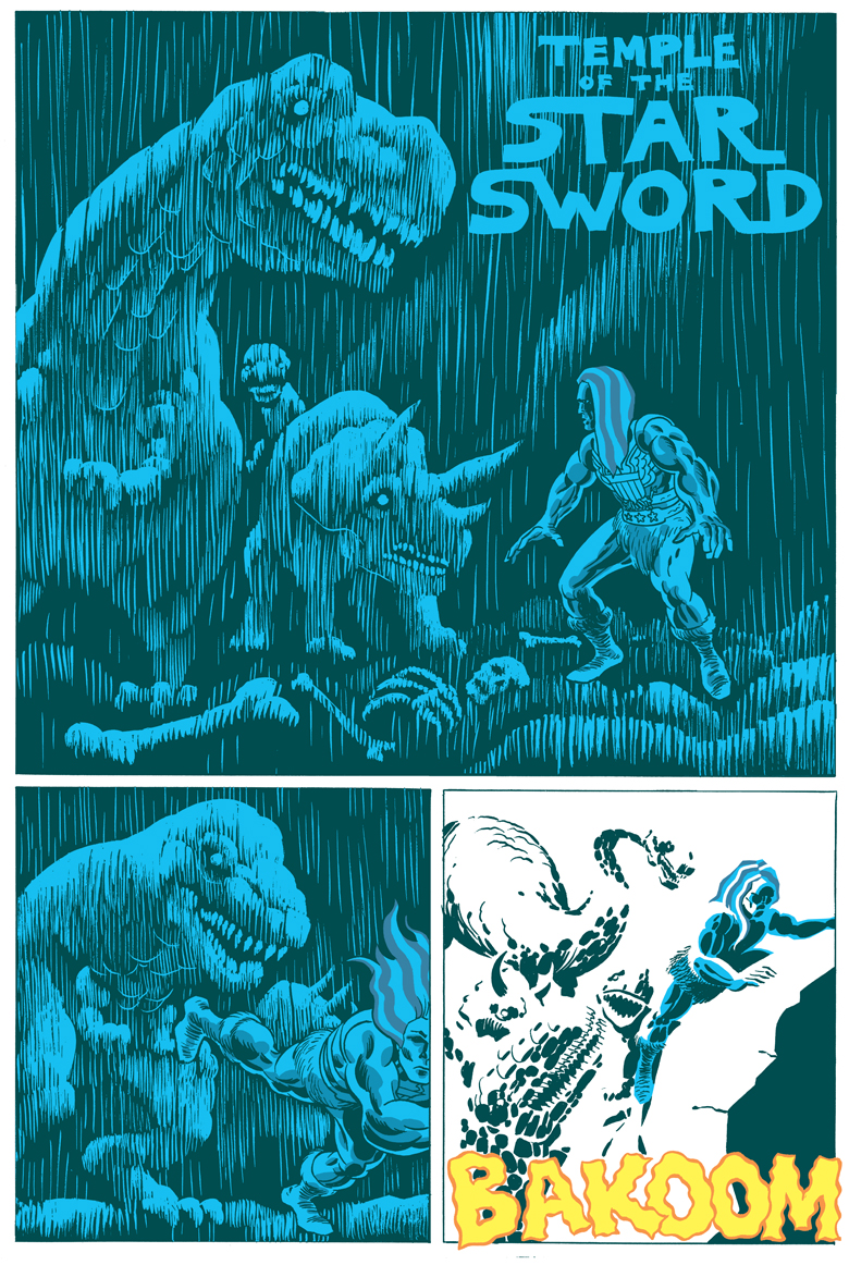 American Barbarian Book 5 Page 1