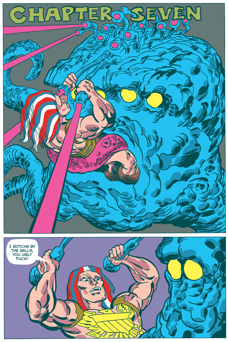 American Barbarian Book  7 Page 1