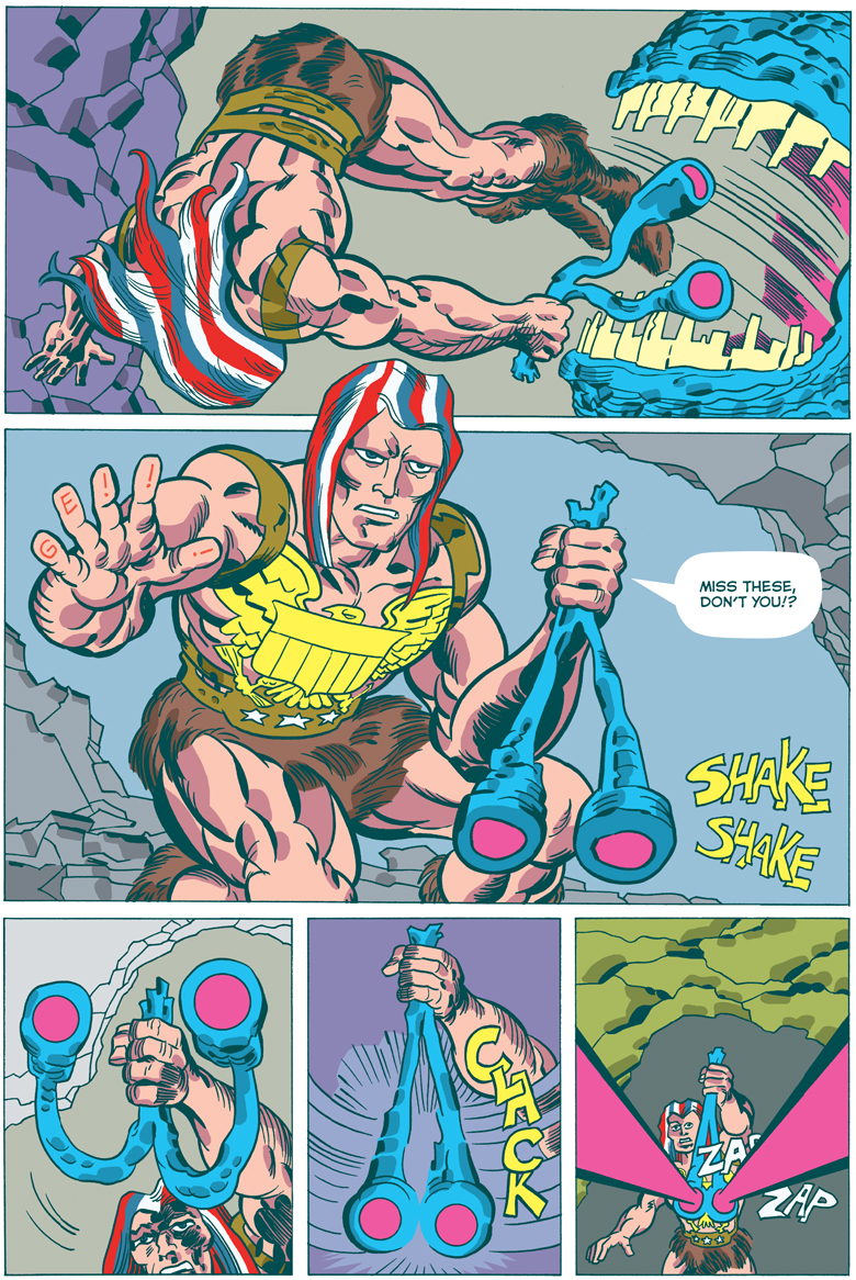 American Barbarian Book  7 Page 3